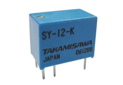 Relè relay di segnale 12V 12Vcc 6A 1 scambio circuito stampato pcb RE030012