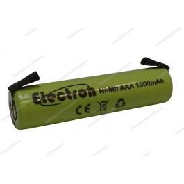 Batteria Ni-Mh Ministilo 1,2V 1000mAh con terminali