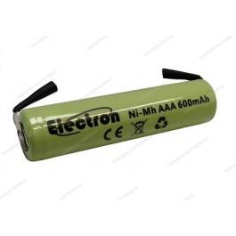 Batteria Ni-Mh Ministilo 1,2V 600mAh con terminali