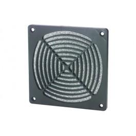 Griglia di protezione con filtro per ventola 80x80