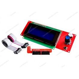 Controller reprap per stampa autonoma con display 20x4