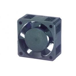 Ventola 12Vcc 40x40x20 in materiale termoplastico su bronzine