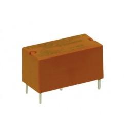 Rele' di segnale in miniatura da circuito stampato a 1 contatto c/o in scambio - 12Vcc 5A