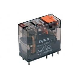 Rele' interface plug-in di potenza a 1 contatto c/o in scambio - 230Vca 16A