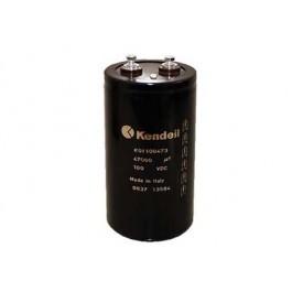 Condensatore elettrolitico in alluminio 12000 ore 85°C - 100V 4700 uF