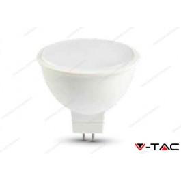 Faretto led V-TAC MR16 7W milky cover - 4500k bianco naturale - VT-1977