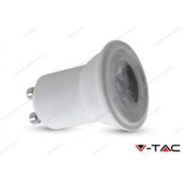 Faretto led V-TAC GU10 2W - 6000k bianco freddo - VT-2002