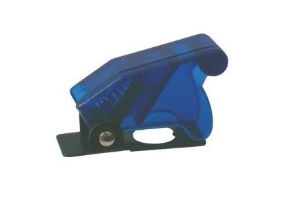 Cover di protezione per deviatori a leva - blu trasparente