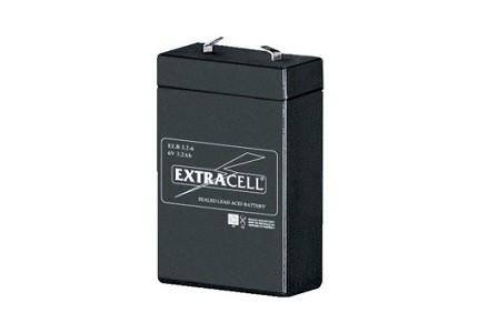 Batteria al piombo 6V 3,2Ah