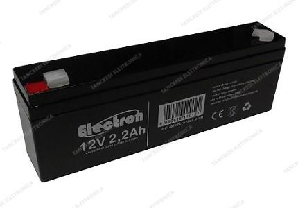 Batteria al piombo ermetica 12V 2,2Ah
