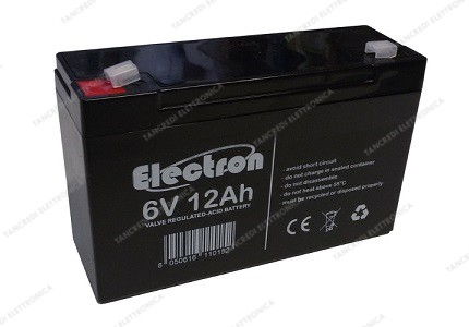 Batteria al piombo 6V 12Ah