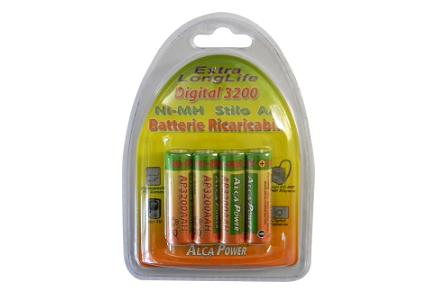 Batteria Ni-Mh stilo 1,2V 3200mAh