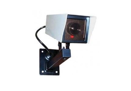 Falsa telecamera in metallo a tenuta stagna