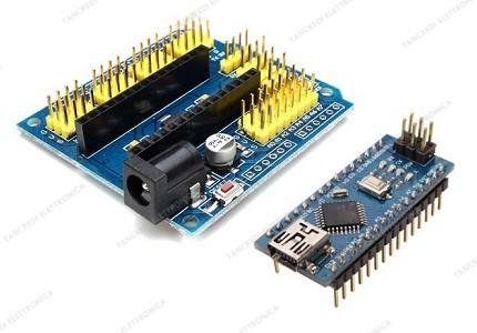 Arduino Nano V3.0 CH340 clone + scheda espansione I/O