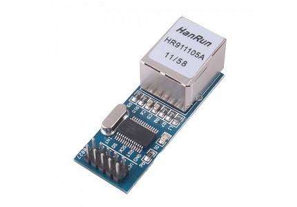 Modulo Ethernet ENC28J60 HanRun HR911105A - mini