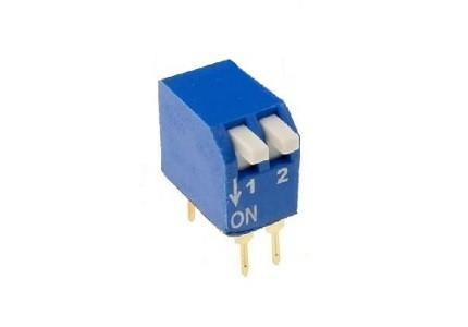Dip switch verticale - 2 vie
