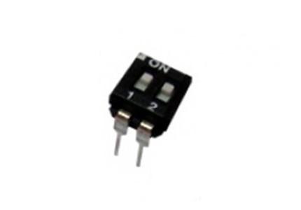 Dip switch orizzontale a basso profilo - 2 vie
