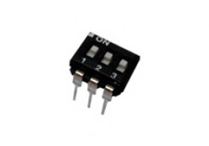 Dip switch orizzontale a basso profilo - 3 vie