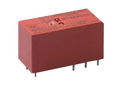 Rele' di potenza da circuito stampato a 1 contatto c/o in scambio - 24Vca 16A