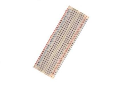 Piastra sperimentale breadboard 830 contatti