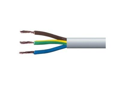 Cavo elettrico antifiamma a norme Cei 20-22 II 3x1,5