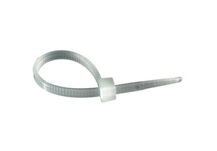 Fascetta bianca 400x5mm - confezione da 100 pz