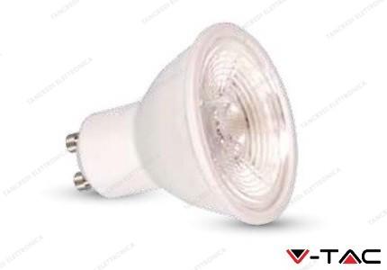 Faretto led V-TAC GU10 7W dimmerabile - 3000k bianco caldo - VT-2886D