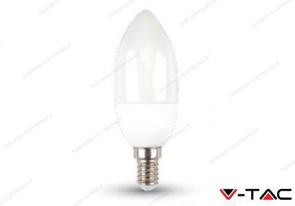 Lampadina led V-TAC a candela 3W - attacco E14 - 4500k bianco naturale - VT-2033