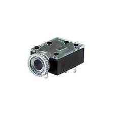 Presa jack stereo da 3,5mm per circuito stampato con doppio interruttore