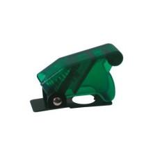 Cover di protezione per deviatori a leva - verde trasparente