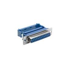 Connettore Sub-D femmina a perforazione d'isolante per flat cable - 9 poli