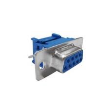 Connettore Sub-D femmina a perforazione d'isolante per flat cable - 15 poli