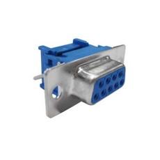 Connettore Sub-D femmina a perforazione d'isolante per flat cable - 25 poli