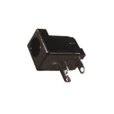 Spina di alimentazione da circuito stampato. Diametro int. 2,5mm - est. 6,3mm
