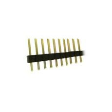 Connettore a striscia maschio da c.s. divisibile - 40 poli - lungh. contatti 12mm