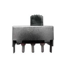 Deviatore a slitta bipolare a 2 posizioni da circuito stampato - 220Vca 0,2A