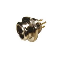 Spina microfonica in miniatura da pannello - 3 poli