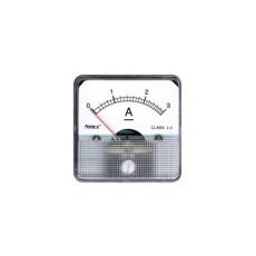 Amperometro a bobina mobile per misure in