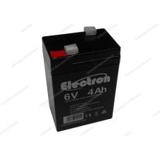 Batteria al piombo ermetica 6V 4Ah