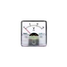 Voltmetro a ferro mobile per misure in corrente alternata. Portata 0 - 300V