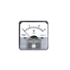 Voltmetro a bobina mobile per misure in corrente continua. Portata 0 - 30V