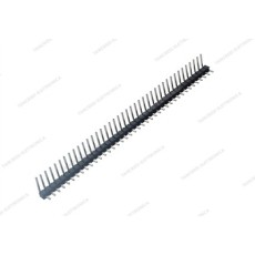 Connettore a striscia maschio da c.s. a 90° divisibile - 40 poli - lungh. contatti 6mm
