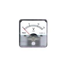 Voltmetro a bobina mobile per misure in corrente continua. Portata 0 - 60V