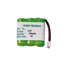 Pacco batteria Ni-Mh 2/3AAA 3,6V 350mAh
