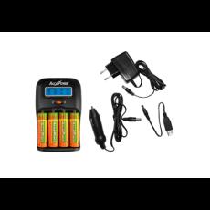 Carica batteria per 2 o 4 Batterie Formato AA-AAA