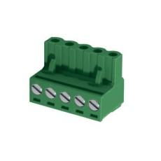 Morsetto europlug femmina passo 5mm - 3 poli