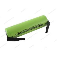 Batteria Li-ion LIR 18650 3,7V 2600mAh con terminali