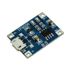 Modulo carica batterie per batterie Lipo TP4056 micro USB - 5V 1A