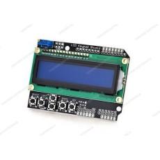 Display lcd 16x2 con retroilluminazione blu con tastiera