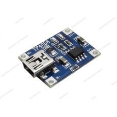 Modulo carica batterie per batterie Lipo TP4056 mini USB - 5V 1A